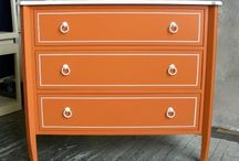 painted furniture / by Nirvanna