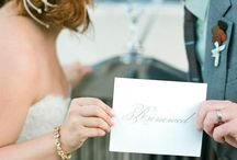 Take 2!  Vow renewal!! / by Carrie Lear