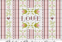 Cross Stitch / If you can`t find a pin you`re looking for - I`ve probably just refiled it. / by KG