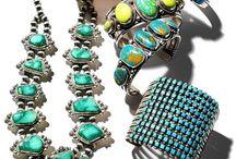 Native American/Turquoise Jewelry, etc. / Jewelry, Native American / by Brenda Sandrick