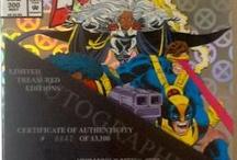 X-MEN Autographed by John Romita - Pencil Artist / by EFamilySales