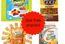 Dye-free kid foods / by Laura O'Connell
