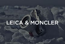 "Leica&Moncler / Balancing art and technology, Moncler has customised the new Leica X ""Edition Moncler"" while Fabien Baron shot, with Leica cameras, a series of photographs in Greenland that became an exhibition unveiled in London at Sotheby's on 14th October, during Frieze Art Fair. / by Moncler"