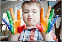 Rainbows / Fun activities, projects, DIY, arts and craft ideas and inspiration for kids all focused on the colors of the rainbow. / by Kiwi Crate | Arts and Crafts for Kids