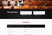 CMS - Wordpress / Theme Wordpress / by Stephane Sommer