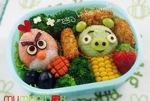 Bento/Kids lunch / by Kris Allbright