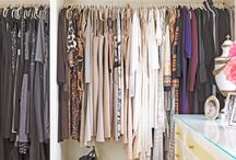 Space Savers and Organization / clever ways to utilize space & organize.  / by Rachel Dorfman