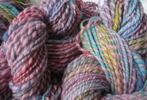 Hand Spun Worsted Weight Yarns by Indigo Kitty Yarns / Worsted Weight Hand Spun Yarns I've created for your special projects. / by Indigo Kitty