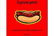 Synonyms, Antonyms, Homophones, etc. / by Leann Hurst