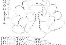 Ascii art Thanksgiving / by Queen Bee
