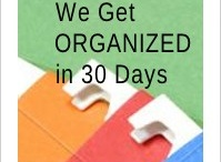 Getting Organized / It's never to late to get organized in all areas of your life!! / by Mary Gresham