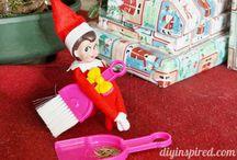 Elf on a shelf ideas / by Brandy Richmond-McCamey