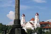 Semarang, Indonesia / Currently studying in Semarang, a lovely city in Central Java, Indonesia / by Cita Pratiwi