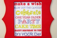 It's All About You! / Birthday decor and ideas / by Andrea Scott Crane