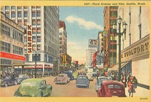 Vintage Seattle Postcards / by Seattle Municipal Archives