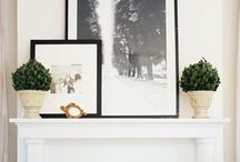 Mantles & Fireplaces / by Courtney Blaisdell