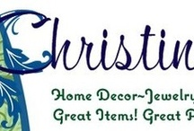 Christine's / Great Items!!!! Great Prices!!!! Jewelry~Gifts~Home Decor / by Christine's