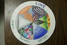 5th through 8th art ideas  / by Meg Weiss