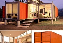 Container houses Trailers & Tiny houses / by Luis