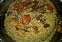 Arabic recipes / by B J