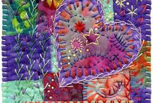 Art - Crazy Quilting & Designs / by Rinnie Hunt Henry