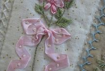 Embroidery - Silk Ribbon / by Rinnie Hunt Henry