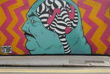 Street Art - Graffiti - Arte Urbano / by Eduardo Newark