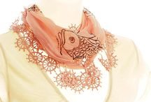 Beautiful Scarves and Shawls / I don't wear them much but I do love scarves! So many to find on etsy! / by Mary Hopkins