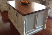 Kitchen Islands with Wood Countertops / by The Grothouse Lumber Company