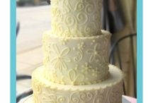 Wedding Cakes Trends - White on White / Whether you choose to go with a smooth and matte fondant, intricate piping and scrollwork, or layers of small sugar blossoms; the colour should be clean and the focus should be on the texture.   / by SmartBrideBoutique.com
