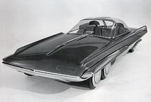 conceptcars of the 50's and 60's / by Lex Hamers