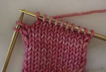 KNITTING-SHORT ROWS / by Mary Ann Nash
