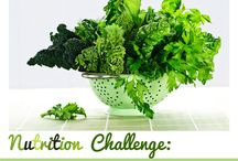 Nutrition Challenges / Try these daily challenges to lead a healthier lifestyle! / by Silver&Fit