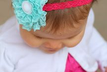 Hair Bows / by Angie Hughes-Bloom