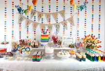 rainbow party! / by Breanna Young