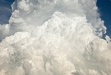 C L O U D S / I've always been fascinated with clouds. Here's a lovely them for you to enjoy.  / by Elizabeth Acklin