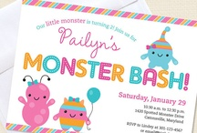MonSTAR 1st Birthday Party / by Mindy