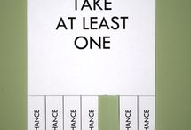 Take One Fliers / by Nikki Sanders