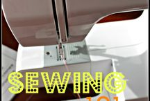 Sewing/Monograming / by Anna Clark