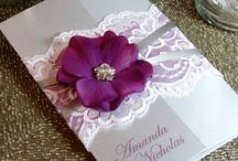 wedding invitations / by Leighton Pichler