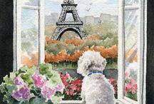 Dog art / by Josilin Rose