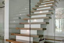 staircase / landing / by sarah strang