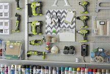 Garage Ideas / by Kristen Cici