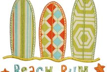 Summer Applique Designs / Catalog of Summer Appliques that I own / by Kristen Register Carraway