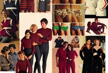 1970s and 1980s Christmas catalog collages / by Jennifer Boyer