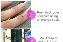 Nail/Cuticle Care / Nails, Nails, Nails... / by Ana Delgado