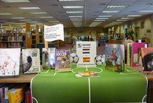 Library / book displays / by Tishylishy
