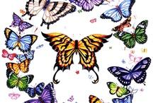 BUTTERFLYS FLY FREE / by Vicki Sartori