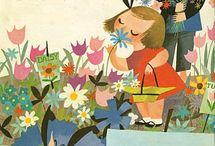 :: MARY BLAIR :: / Toujours de mon enfance... / by Anne-Laure Alain