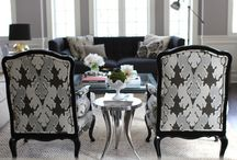 Home: Living/Family/Gathering Spaces  / by Lauren V